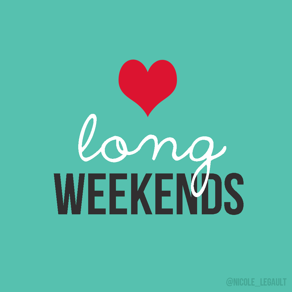 Long weekend recap + BBG day 1+ September goals